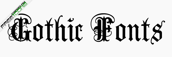 Готический шрифт anglican text