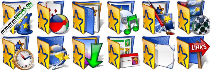иконки ico для папок скачать: