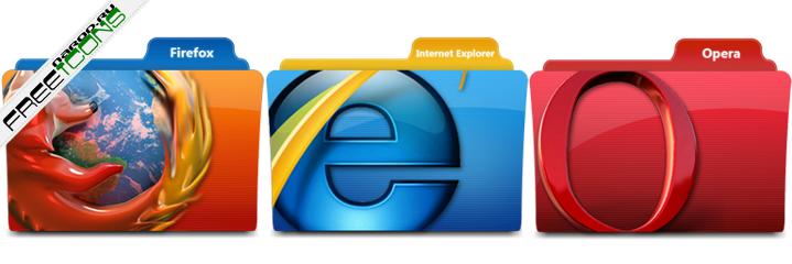 Иконки папок browsers